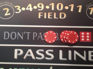 Don't Pass Bet with Odds